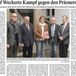Bischof Weckerts Kampf gegen den Priestermangel