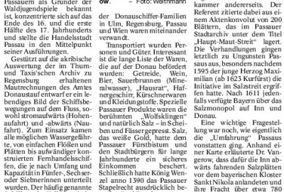 """Wie Passau von den Bayern """"umfahren"""" wurde"""