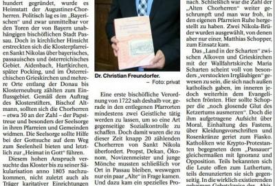 Chorherren auf der vergeblichen Suche nach geheimen Lutheranern