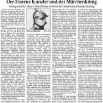 Der Eiserne Kanzler und der Märchenkönig