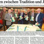 480 Seiten zwischen Tradition und Jubiläum